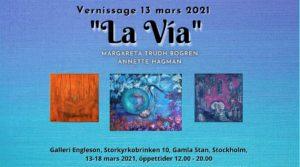 Konstutställning La Via