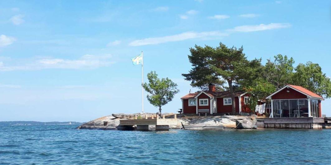 Hus Stockholms skärgård